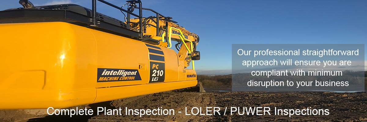 Complete Plant Inspection LOLER / PUWER